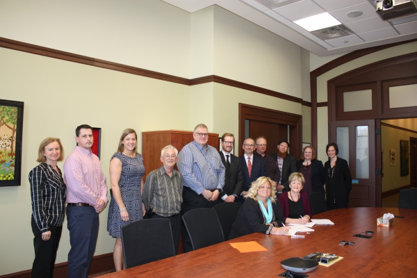 New contract for NBCC Instructors officially signed