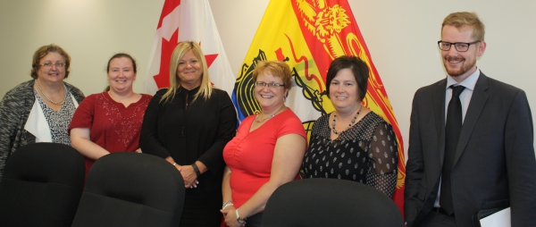 The Specialized Health Care Professionals bargaining group - pictured above - had its new contract officially signed during a ceremony in Fredericton.