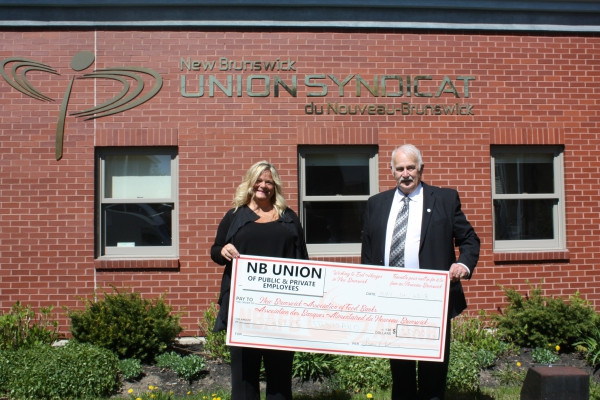 NBU donates $12,000 to provincial food banks