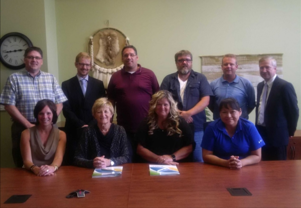 The NBCC IT bargaining component officially signed its first collective agreement during a ceremony in Fredericton.